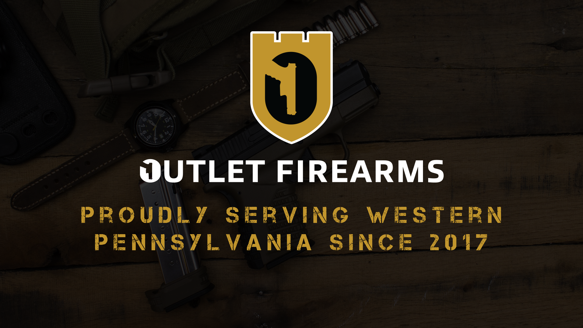 Outlet Firearms is located in Grove City, PA